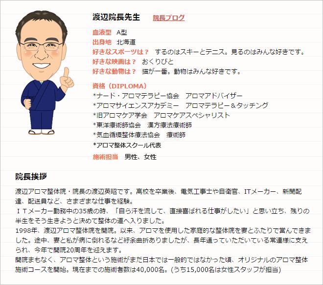 渡辺院長先生